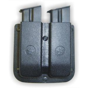 Porta cargador doble con regulador de tensión.